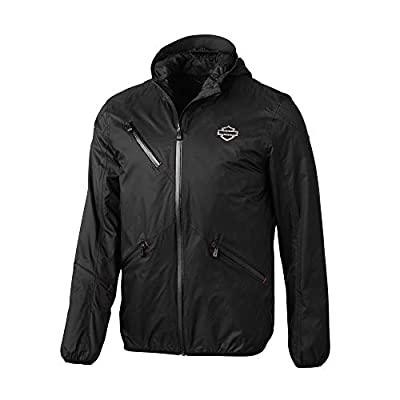 HARLEY-DAVIDSON Men's Cordura Ripstop Slim Fit Jacket, Black (XXX-Large)
