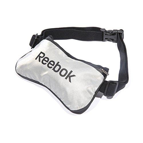 Reebok RRAC-10106 Cinturón de Almacenamiento, Unisex, Negro, Talla Única