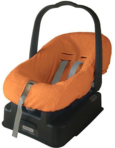 BABY'S CLAN Housse de Siège Eponge Universelle Orange 0-13 kg 3 Harnais