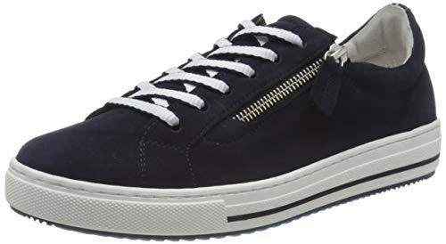 Gabor Shoes Damen Comfort Basic Sneaker, Blau (Bluette(Bluette K) 36), 39 EU