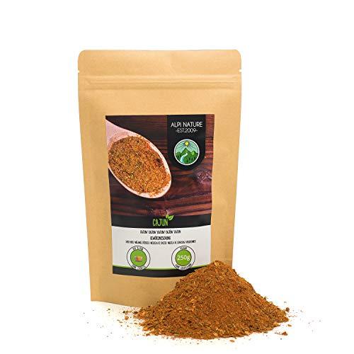 Cajún (250g), Mezcla de especias cajún, mezcla de especias típicas de la India, empaque resellable