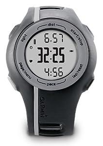 Registra distancia, ritmo y tiempo Pónlo en marcha presionando sólo dos botones Compatible con pulsómetro Planea, revisa y comparte tus entrenamientos en Garmin Connect