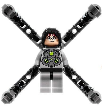 Lego Super Heroes Doctor Octopus Doc Ock Minifigure
