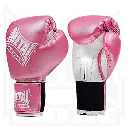 Metal Boxe MB221 - Guantes de boxeo, color rosa - rosa, tamaño 8 oz