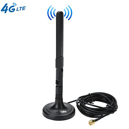 3G 4G LTE Antenna SMA Male Magnetic 3dBi GSM Antennas with Magnetic Sucker for Mobile Phone Signal Enhancer Repeater