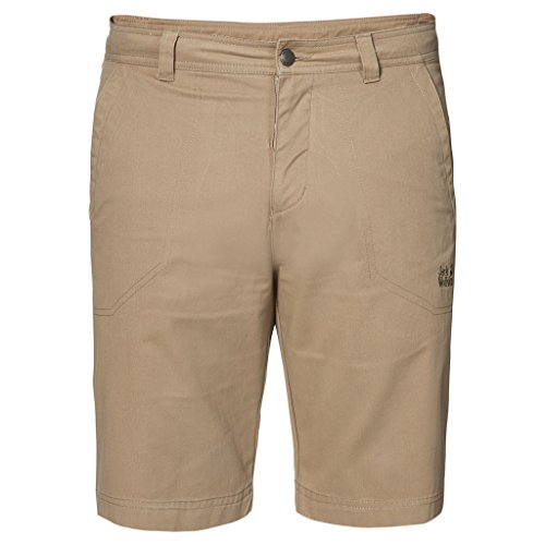 Jack Wolfskin Herren Drake Shorts, Herren, 1503831, Sanddüne, Size 58 (US 42