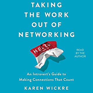Taking the Work Out of Networking audiobook cover art