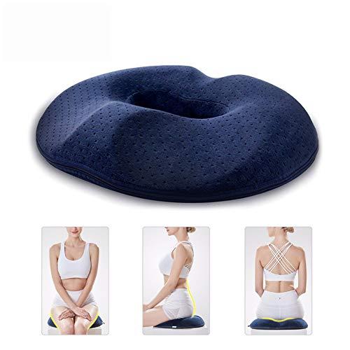 Donut Tailbone Pillow Hämorrhoiden-Kissen - Schmerzlinderung Hemmoroid-Behandlung, Wunden im Bett, Prostata, Steißbein, Ischias, Schwangerschaft, orthopädische Chirurgie nach der Geburt