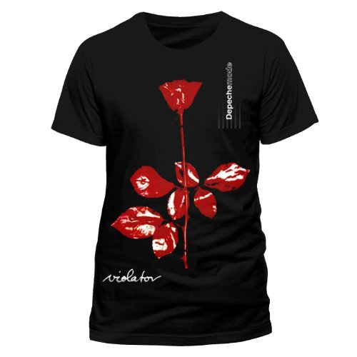 Live Nation Depeche Mode - Violator herrenT-shirt voor , Schwarz  (Fabrieksmaat:Large)