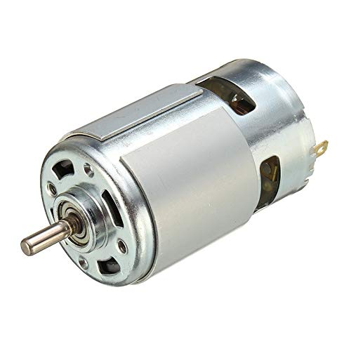 775 DC Motor DC 12V-36V 3500-9000 RPM Ball Bearing Large Torque High Power Low Noise Hot Sale Electronic Component Motor