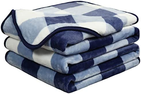 EASELAND Soft Blanket Warm Fuzzy Microplush Lightweight Thermal Fleece Blankets for Couch Bed product image