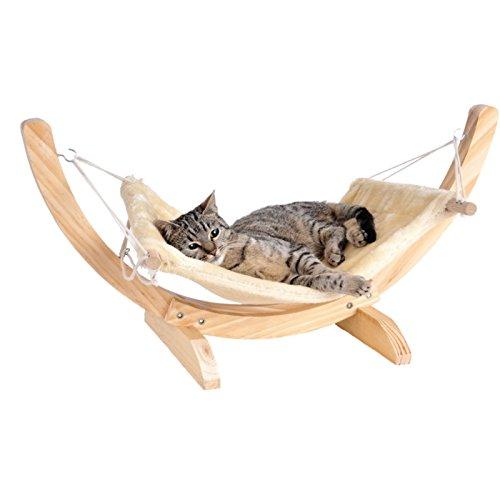 Silvio Design Katzenbett, Katzenhängematte, Katzenliege Cat Relax, Maße: ca. 70 x 35 x 30 cm