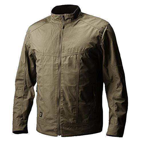Chaquetas para hombre Primavera/Otoño Caza Camping Abrigo Impermeable Ropa de Alta Calidad Verde caqui M