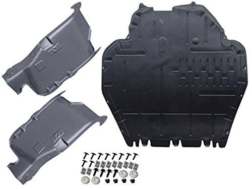 Unterfahrschutz + Schrauben Clips + Seiten Motor Cover