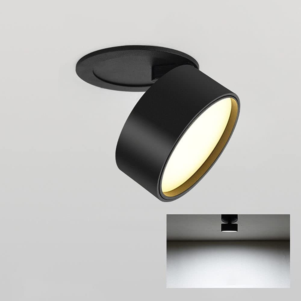 LED Ceiling Spotlight COB Accent Indianapolis Financial sales sale Mall Downlight 355° Lamp Adjustable