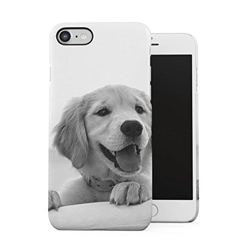 Cute Little Baby Labrador Dog H& Dünne Handy Schutzhülle Hardcase Aus Hartplastik Hülle Kompatibel mit iPhone 7 / iPhone 8 Handyhülle Case Cover