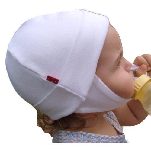 DOTS ON TOTS Organic Cotton Infant Noise Reduction Hat