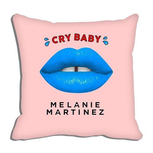 LOVE-F Decorative Cushion Covers Sofa Chair Seat Throw Pillow Case 18x18 Inch Cotton Linen Decorative Pillow Cushion Cover Melanie martinez