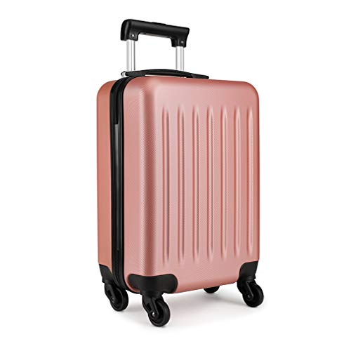 "Kono Light Weight Large 28"" Hard Shell Suitcase 4 Spinner Wheels ABS Luggage Travel Trolley Case (28', Nude)"