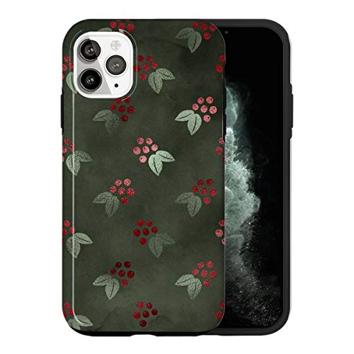 iPhone 12 PRO MAX Custodia, Shinny Green Christmas Decoration LS017_5 Custodia Per iPhone 12 PRO MAX Protettiva, Gorgeous Phone Cover, Popular Trendy Fashionable [Guscio Resistente In Plastica Dura]