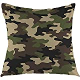 Not applicable Camouflage Pattern Military Backgound Dekokissen Abdeckung Platz Kissen Fall Home...