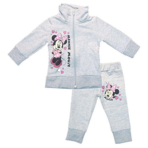 Minnie Mouse Disney Baby Mädchen Sport-Anzug in Größe 74 80 86 92 98 104 110 116 122 *Verschiedene Modelle* Baumwolle Trainings-Anzug mit Joggers Farbe Modell 6, Größe 98