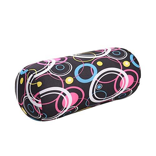 homeyuser Reisekissen Rollkissen Mikroperlen Bezug Nackenkissen Nackenkissen Rollkissen Beanie Kissen für Schwangerschaft Körper Squishy Reise Schlaf Massage Rücken Unterstützung Magic