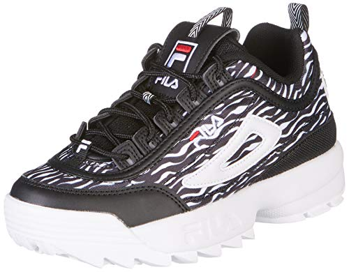 FILA Disruptor Animal Wmn Zebra Black 1010863.9YU
