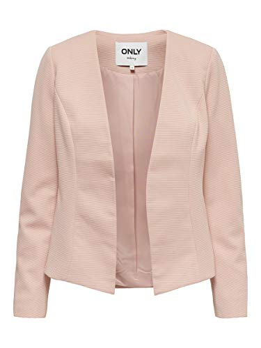 ONLY Damen Blazer Kurzer 42Rose Smoke