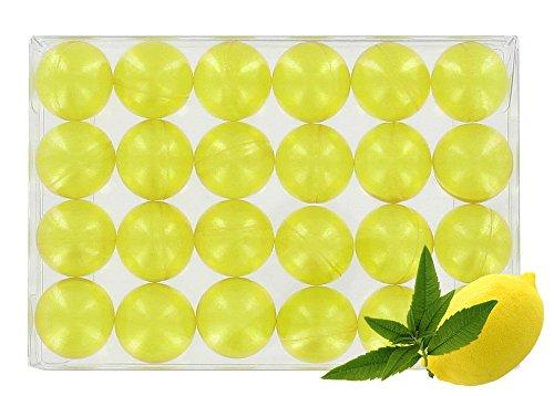 Caja de 24 baño perlas – Verbena/Limón translúcido