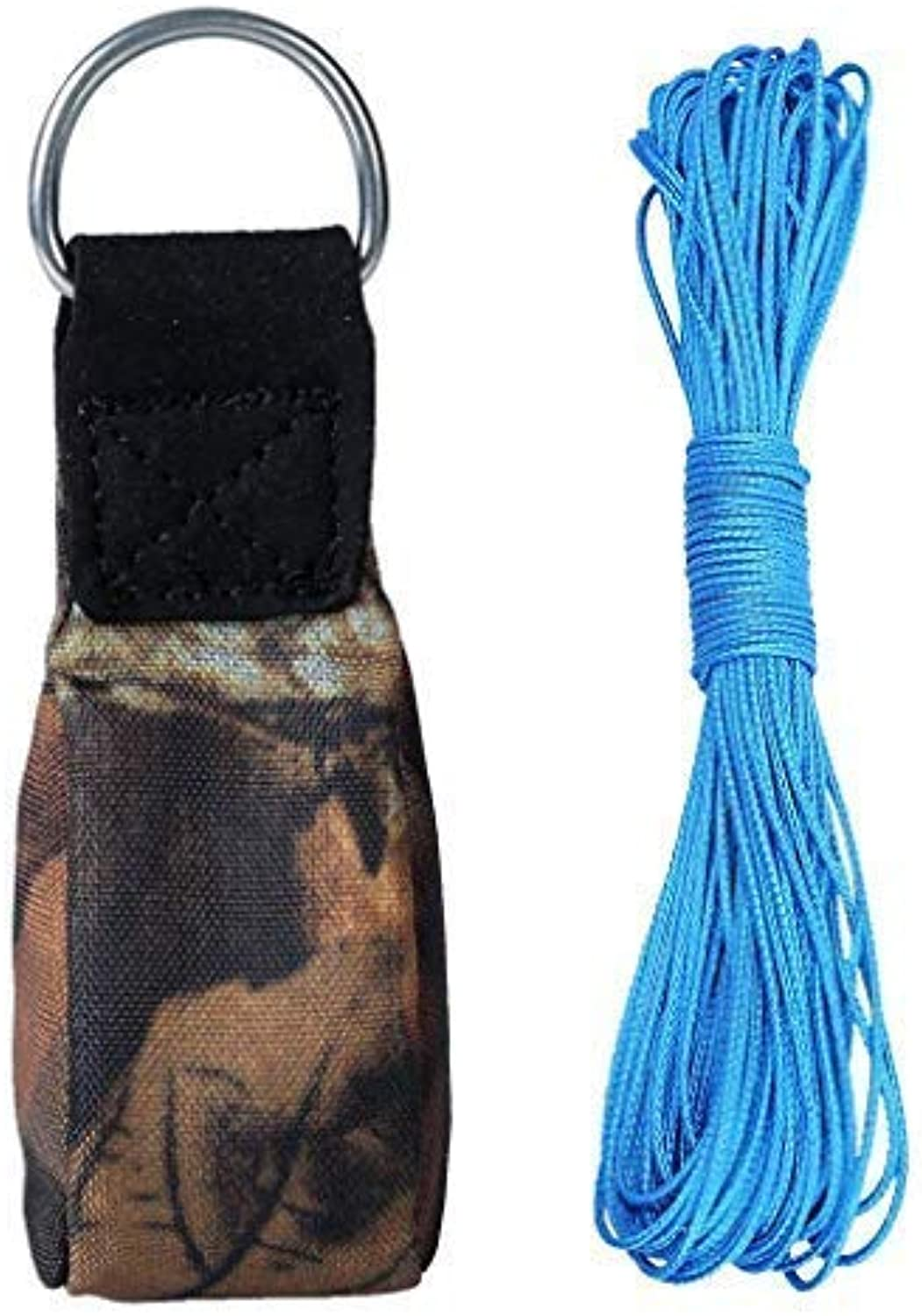 Yundxi Throw Weight Bags Pouches with 30m Line for Climbing Tree Arborist & Tree Swing Inssizetion