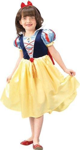 Rubie's-déguisement officiel - Disney- Costume Blanche-Neige Deluxe - Taille L- I-883759L