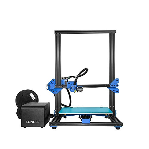 x 12.0 LONGER LK1 3D Printer with Touch Screen x 15.7 L Black Full Metal Frame Large Build Size 12.0 Filament Detector W H Resume Printing