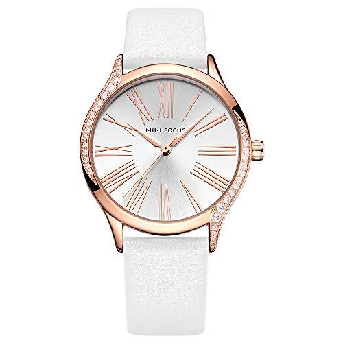Fashion Style Lady Watch MF025901 - Reloj analógico para mujer con correa de piel