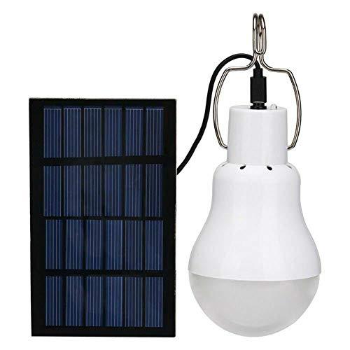 SKTWOE Linterna Solar Ligera Solar de la Carpa del Campo de la iluminación del LED portátil Conveniente para la Pesca Que acampa al Aire Libre de la Emergencia del hogar Que acampa al Aire Libre