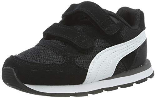 PUMA Vista V Inf, Zapatillas Unisex Bebé, Negro Black White, 20 EU