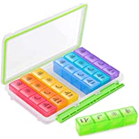 Bug Hull Pill Organizer Moisture-Proof Pill Box