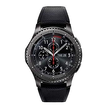 SAMSUNG GEAR S3 FRONTIER Smartwatch 46MM - Dark Gray  Renewed