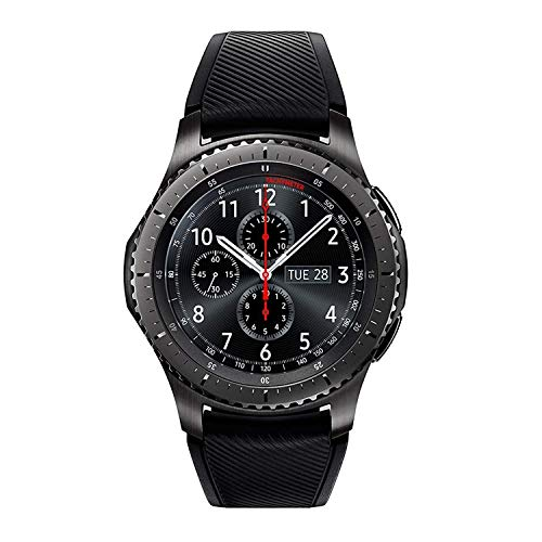 SAMSUNG GEAR S3 FRONTIER Smartwatch 46MM - Dark Gray (Renewed)
