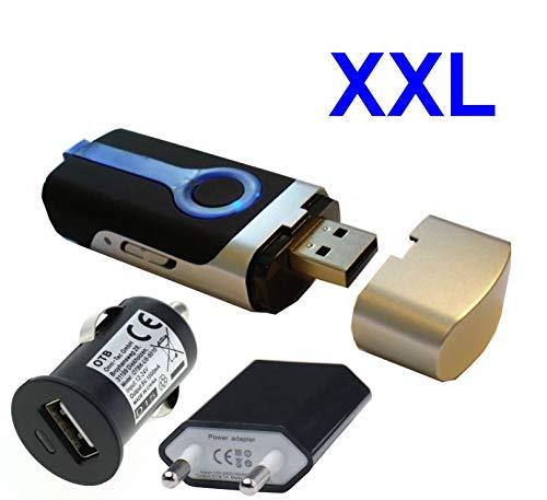 GT-730FL GPS Dispositif 3in1 Récepteur GPS USB + Enregistreur de données + Traqueur de photos + Enregistreur de données + XXL accessoire intégré rechargeable de 17h