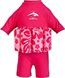 Konfidence Floatsuit, Pink Hibiscus, 2-3 Years