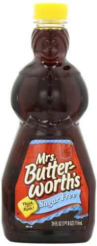 Mrs Butterworth#039s Sugar Free Syrup 24 Ounce