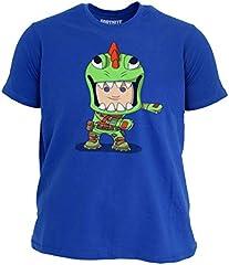 Fortnite Camiseta para Niños Gráfico de Rex Oficial