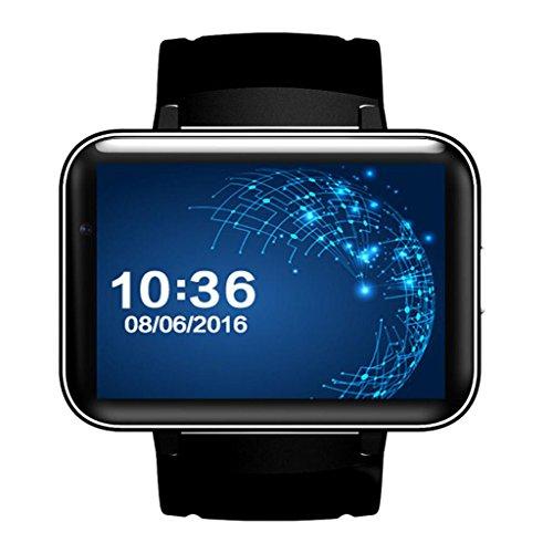 Reloj inteligente WiFi Android Step 3G pantalla grande Navegación GPS Dual Core...