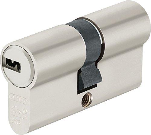 Abus EC550NP Profilzylinder EC550 NP, Lg 30/35mmm.3 Schlüssel, mit N+G, Wendeschlüssel, 30/35 mm