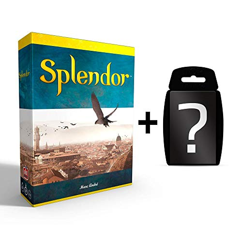 yvolve Splendor - Brettspiel | DEUTSCH | Set inkl. Kartenspiel