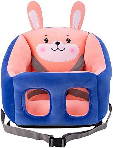 JUGUETE Silla para bebé, asiento infantil Asiento de asiento de felpa con forma de animal suave con forma de bebé Sofá de bebé cómodo para recién nacido 3-16 meses Sofá para niños Prevención de rollov