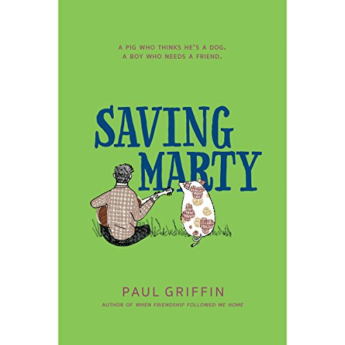 Saving Marty audiobook cover art