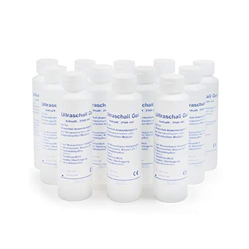 Ultraschallgel | KK Kontaktgel | Sonogel | 12 x 250 ml Flasche