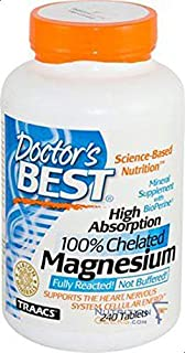 Doctor's Best High Absorption Magnesium 240 Tablet